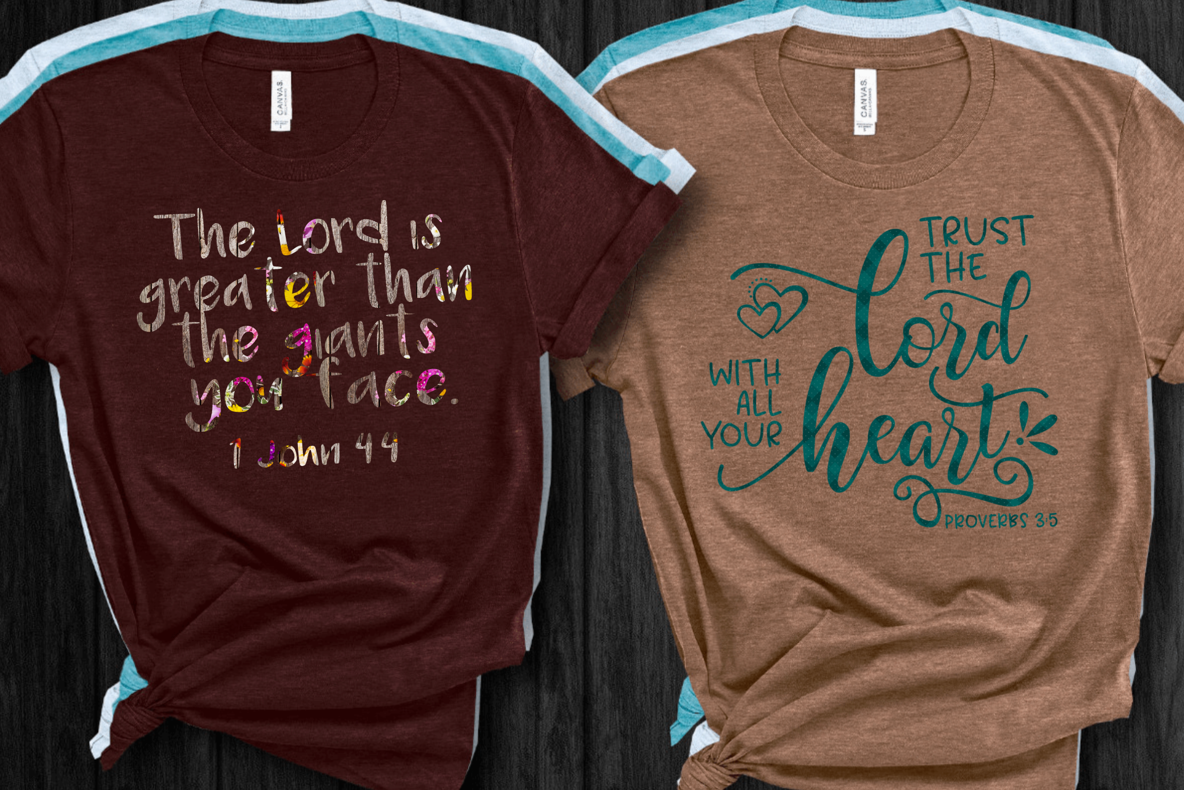 Trust The Lord With All Your Heart Short Sleeve Women's Tshirt