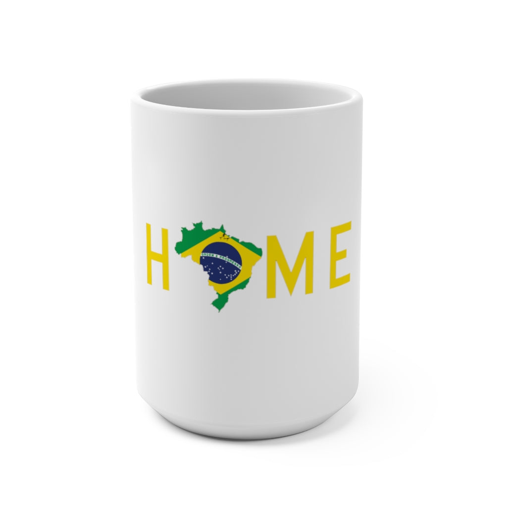 HOME is Brazil Mug 15oz - HeritageHill