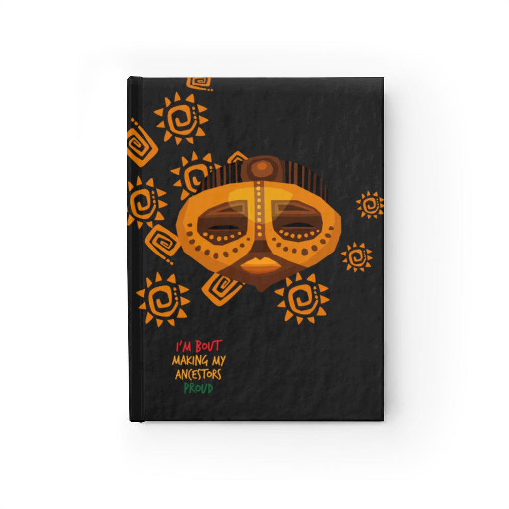 Heritage Hill African Print Blank Page Journal - HeritageHill