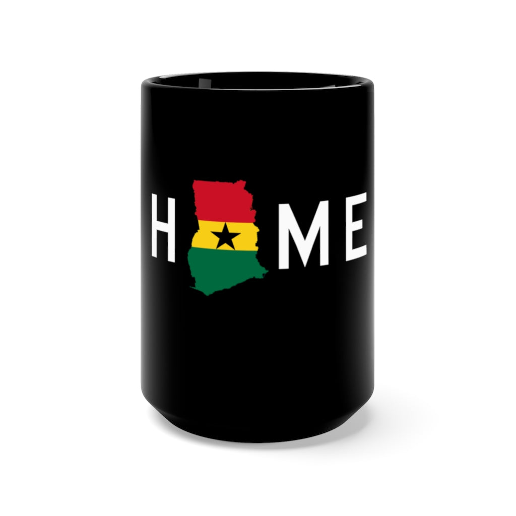 HOME is Ghana Mug 15oz - HeritageHill