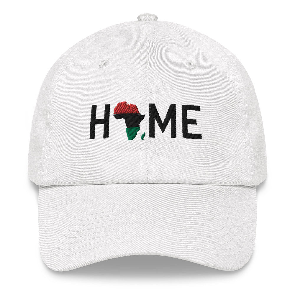 Home is the Motherland Icy x White Dat Hat - HeritageHill