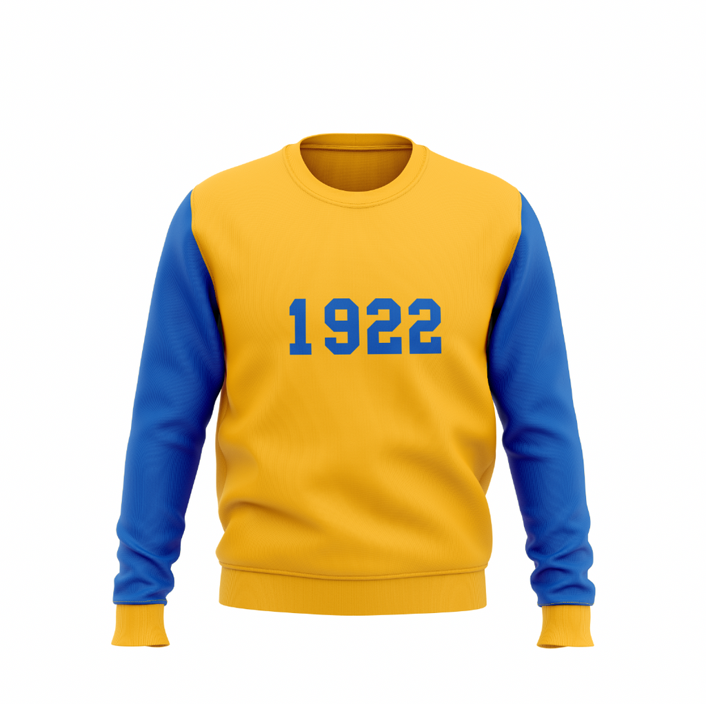 1922 Vintage Color Block Sweatshirt - HeritageHill