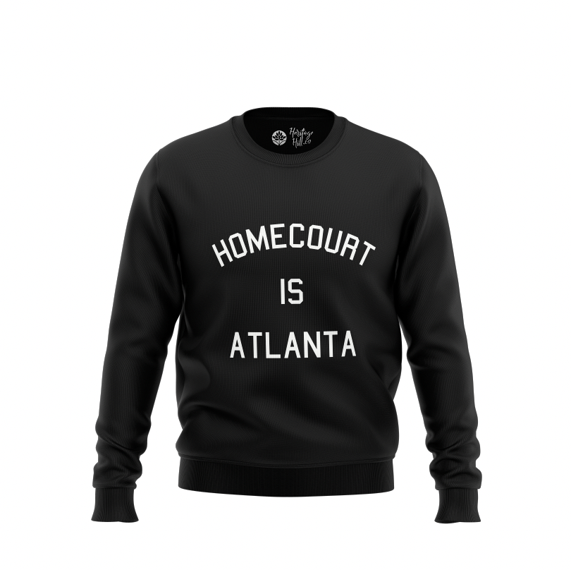 HomeCourt is Atlanta Onyx Crewneck - HeritageHill