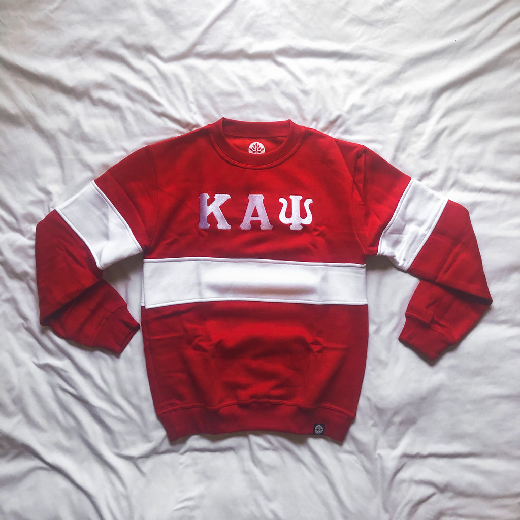 Kappa Alpha Psi Vintage Color Block Sweatshirt - HeritageHill