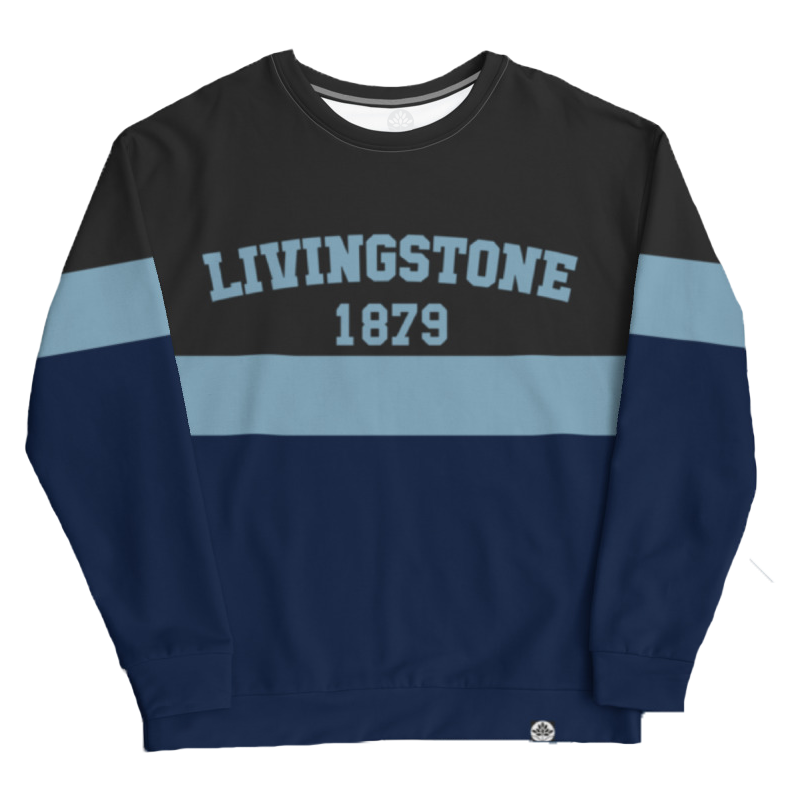 Livingstone College Vintage Color Block Sweatshirt - HeritageHill