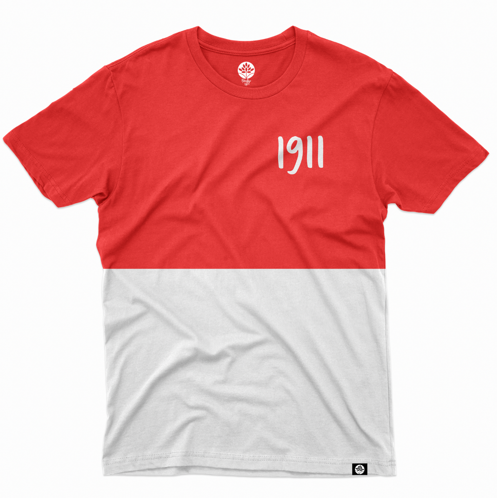 Vintage NUPE Color Block 1911 T-Shirt - HeritageHill