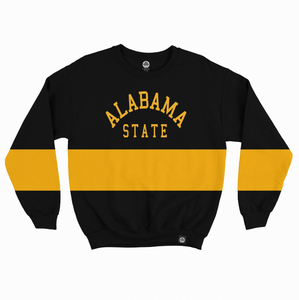 Alabama State Vintage Color Block Sweatshirt