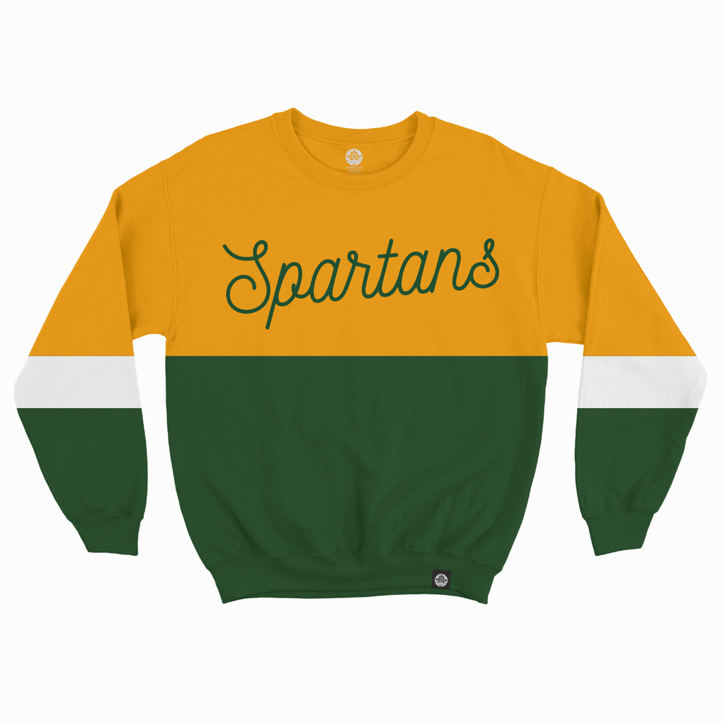 Norfolk State Spartans Vintage Embroidered Sweatshirt - HeritageHill