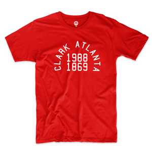 Clark College Atlanta University Vintage Red T-Shirt