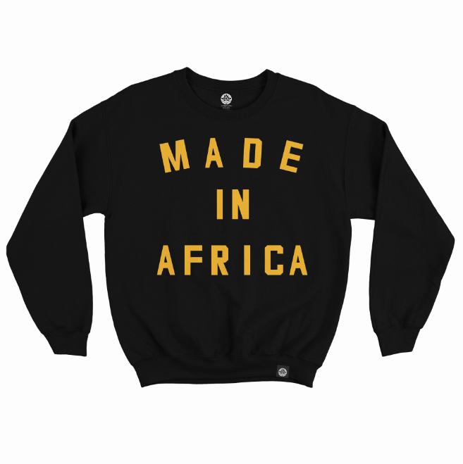 Made in Africa Onyx Sweatshirt - HeritageHill