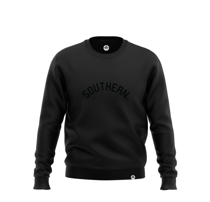 Southern University BLK on BLK Onyx Sweatshirt - HeritageHill