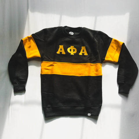 Alpha Phi Alpha Vintage Color Block Sweatshirt