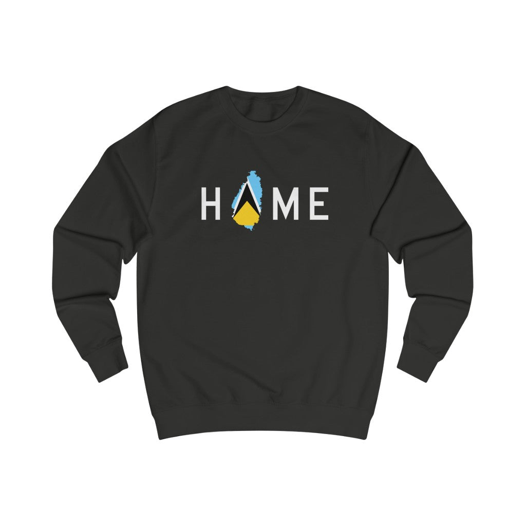 HOME is St. Lucia Sweatshirt - HeritageHill