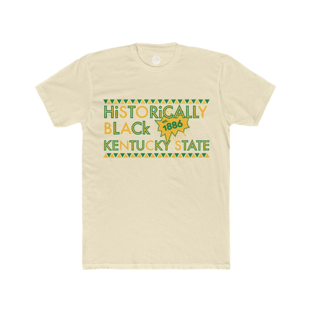 Historically Black Kentucky State Natural T-Shirt - HeritageHill