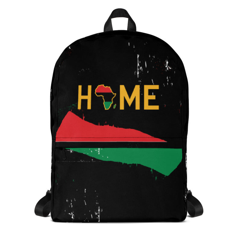 Home is the Motherland Designer Backpack - HeritageHill