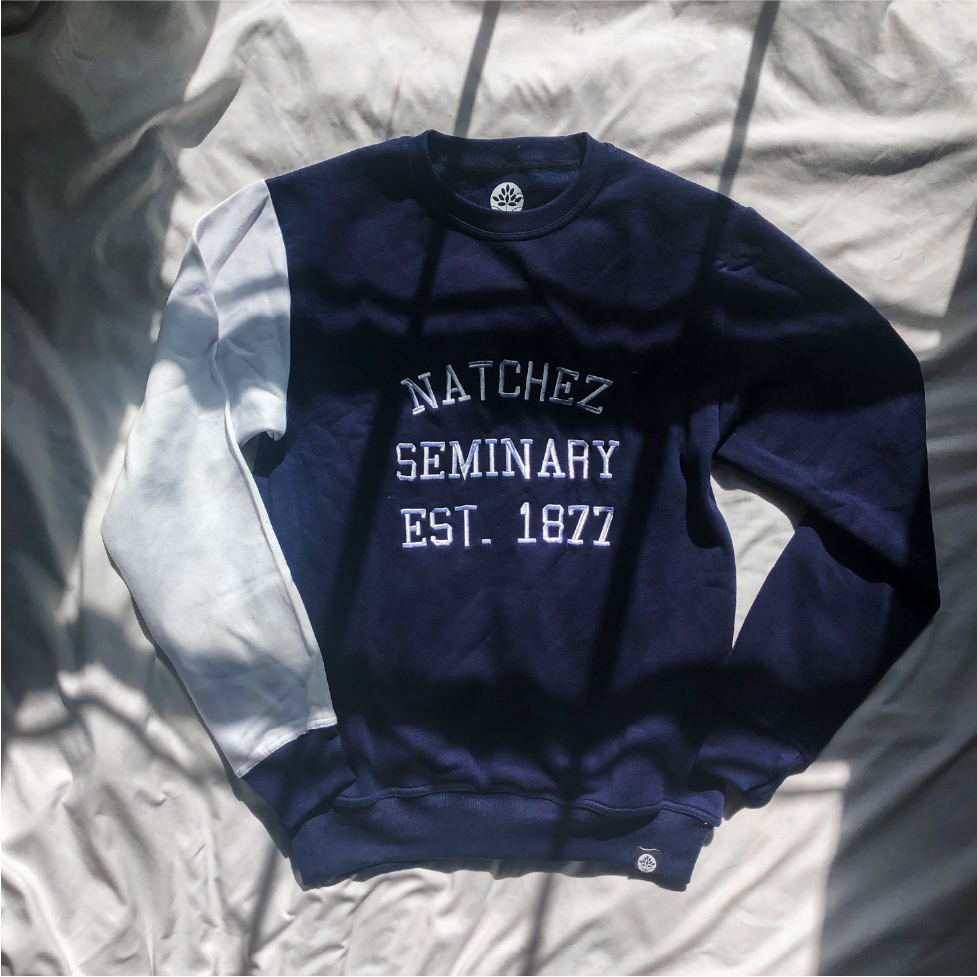 Natchez Seminary 1877 Color Block Sweatshirt - HeritageHill