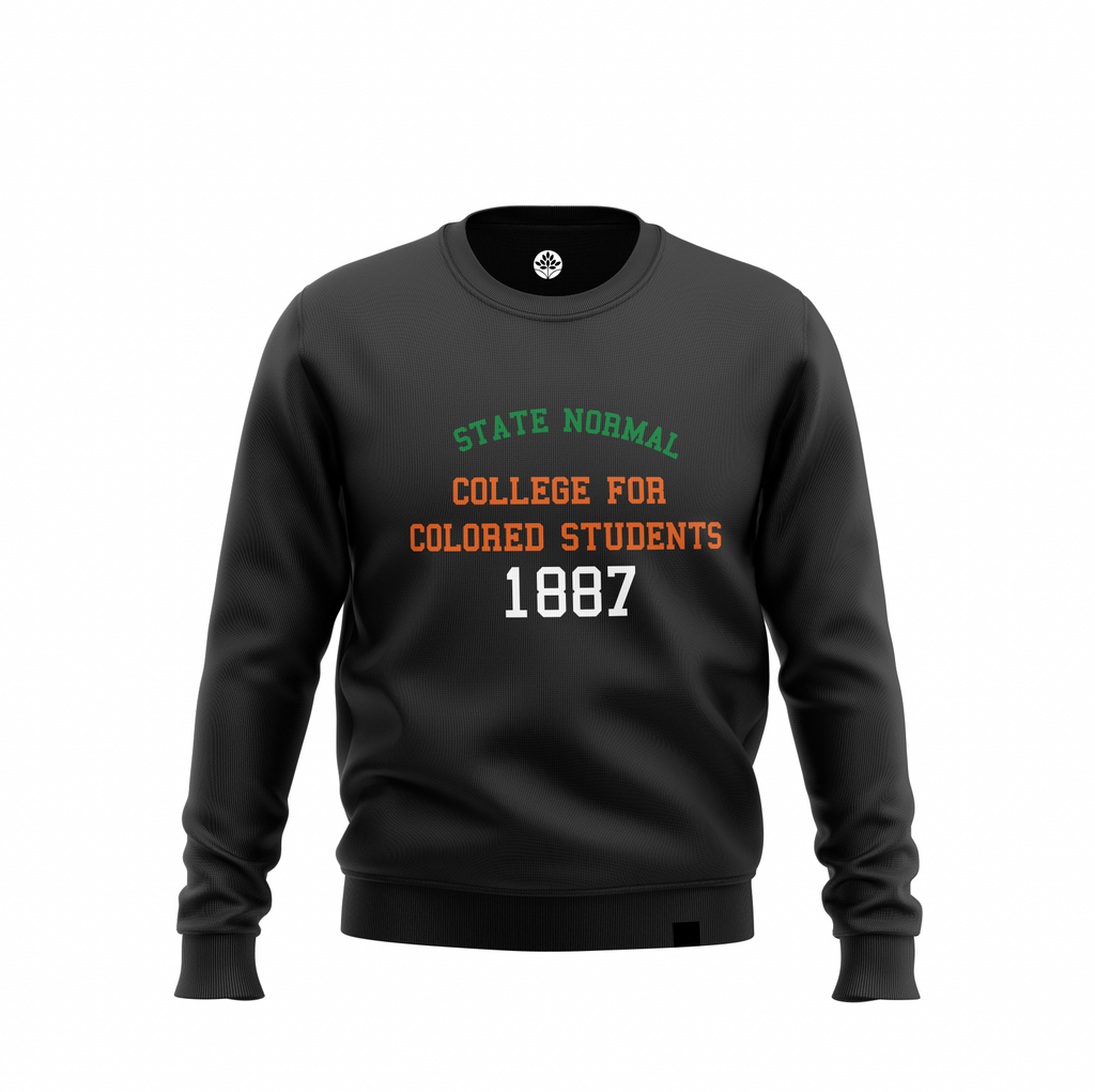 State Normal College for Colored Students 1887 Sweatshirt #HeritageHill - HeritageHill