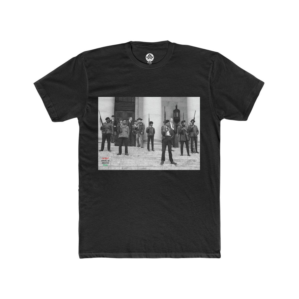 Black Panther Party Washington State Capital T-Shirt - HeritageHill