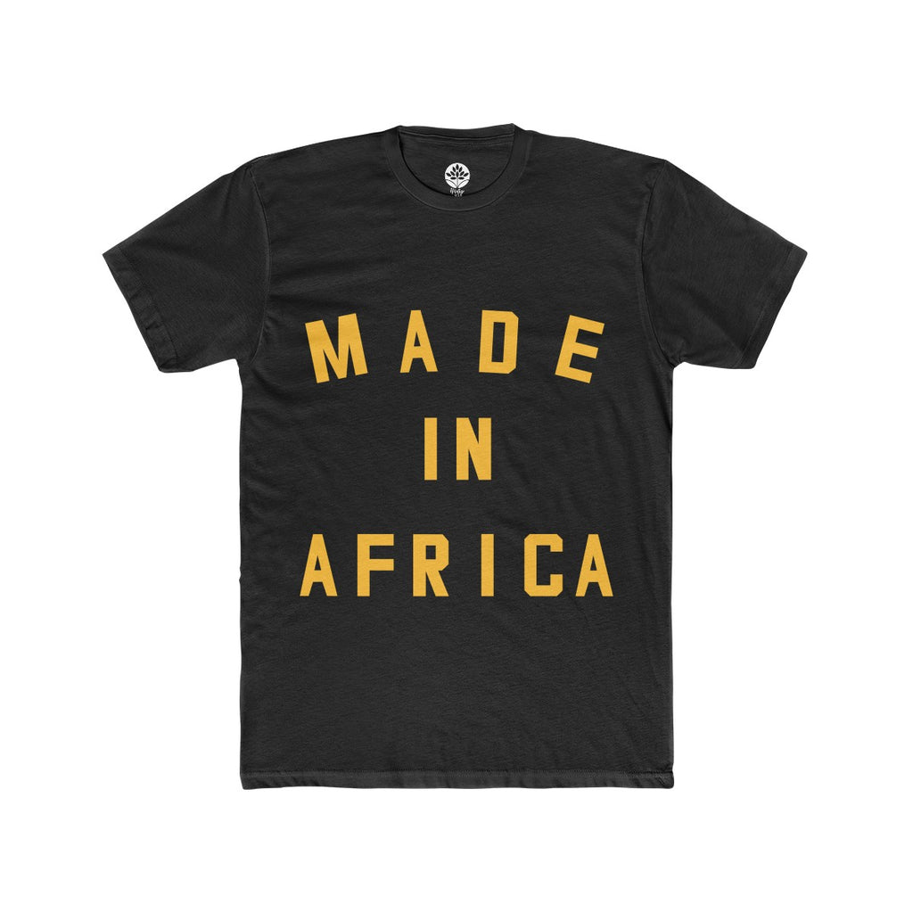 Made in Africa Onyx T-Shirt - HeritageHill