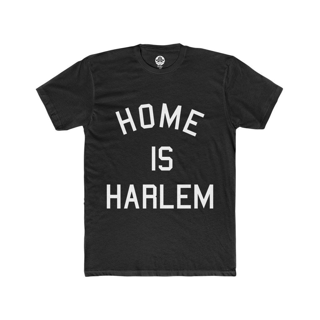 Home is Harlem Black T-shirt - HeritageHill