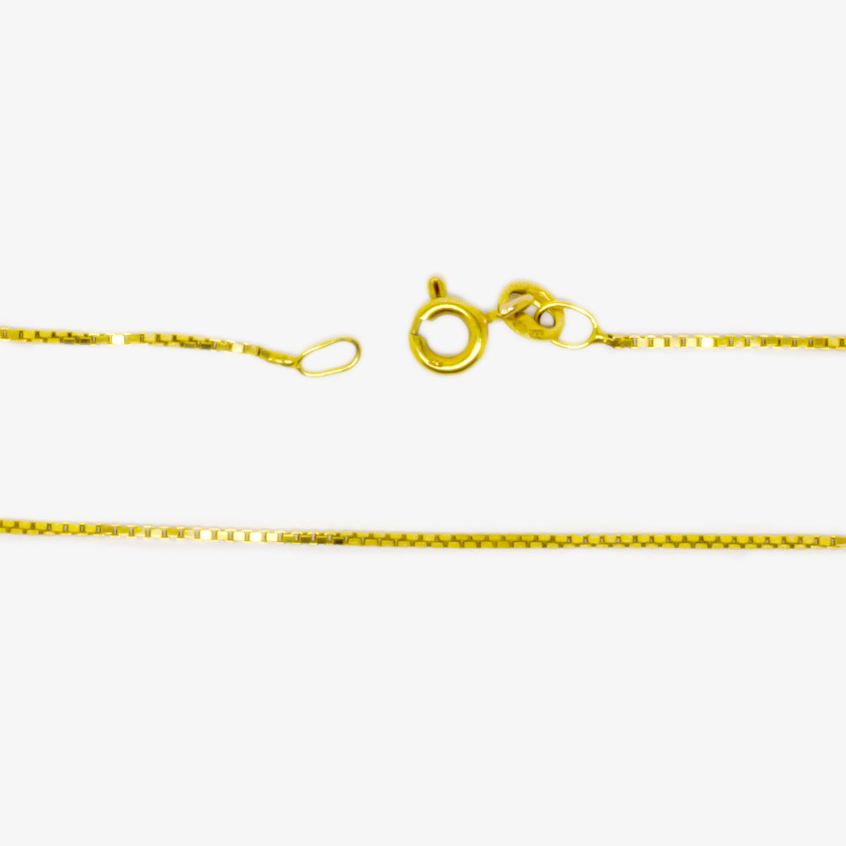 9ct Gold Box Chain