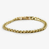 Jordans Jewellers 9ct yellow gold pre-owned gent's bracelet - Alternate shot 1