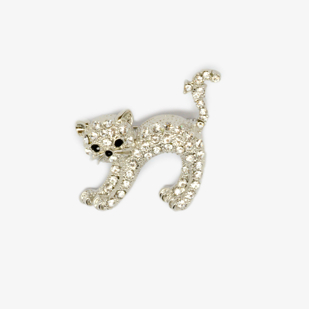 Arched Cat Brooch