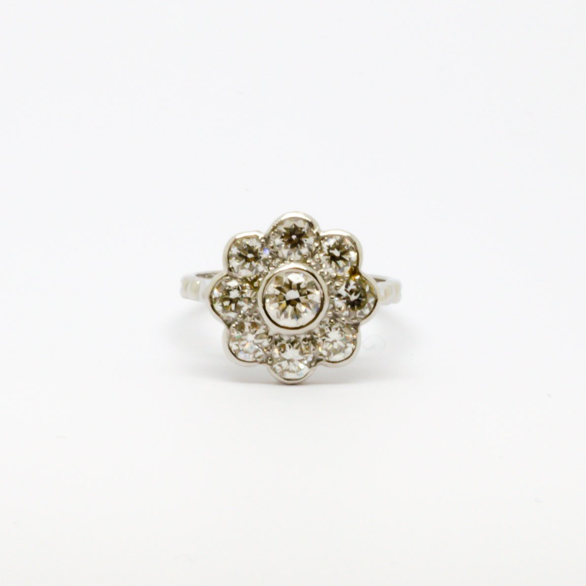 Diamond Flower Ring - Jordans Jewellers