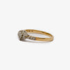 Jordans Jewellers 9ct yellow gold diamond cluster ring - Alternate shot 1