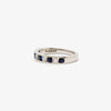 Jordans Jewellers 18ct white gold sapphire and diamond half eternity ring - Alternate shot 1 - Alternate shot 2