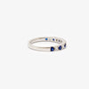 Jordans Jewellers 18ct white gold thirteen stone sapphire and diamond ring - Alternate shot 1 - Alternate shot 2