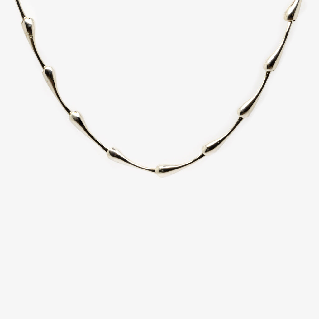 Jordans Jewellers silver drip necklace