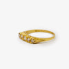 Jordans Jewellers 18ct yellow gold pre-owned five stone diamond ring - Alternate shot 1