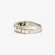 Jordans Jewellers 18ct white gold pre-owned seven stone diamond half eternity ring