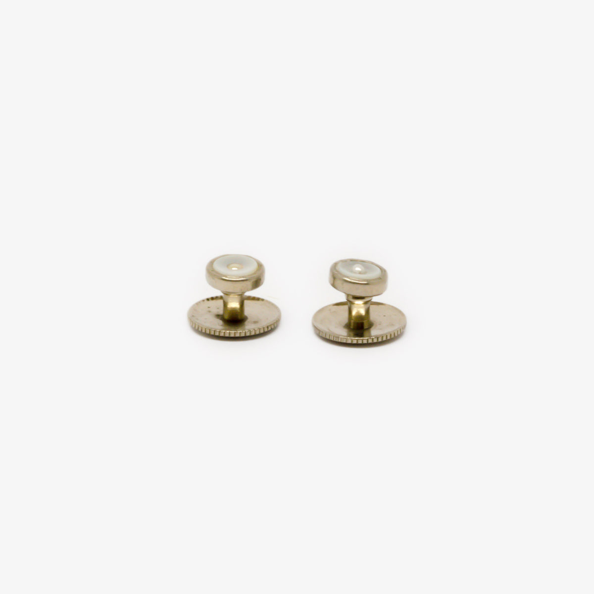 Jordans Jewellers antique pearl dress studs - Alternate shot 1 - Alternate shot 2