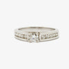 Jordans Jewellers 18ct white gold round diamond wedding ring set - Alternate shot 1 - Alternate shot 2 - Alternate shot 3 - Alternate shot 4