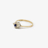 Jordans Jewellers 9ct gold diamond and sapphire ring - Alternate shot 1