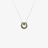 Jordans Jewellers reversible horseshoe pearl pendant necklace - Alternate shot 1 - Alternate shot 2