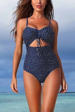 Borical Sexy Printed One Piece Swimwear