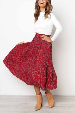 Wild Polka Dot Skirt