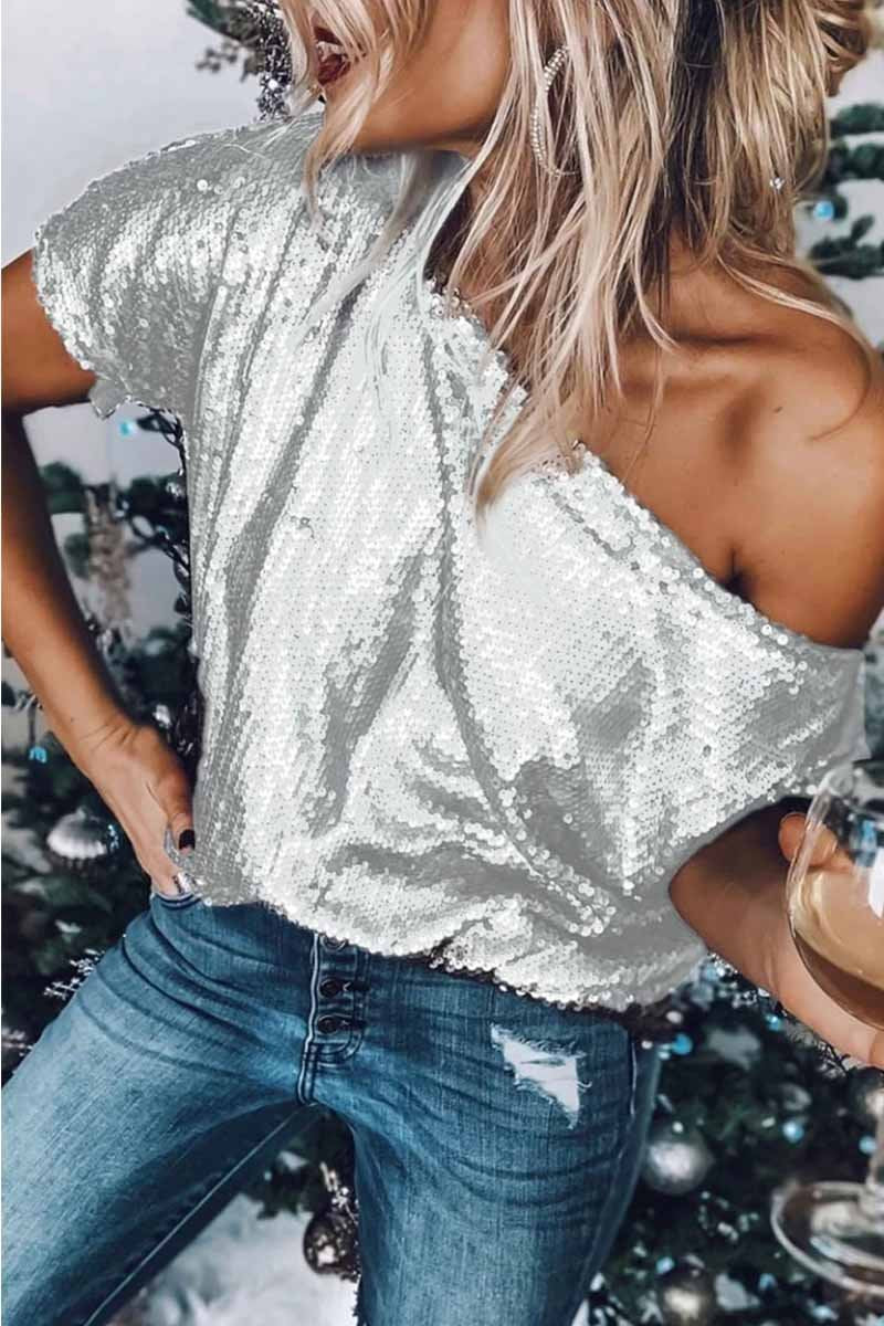 Dew Shoulder Blouse