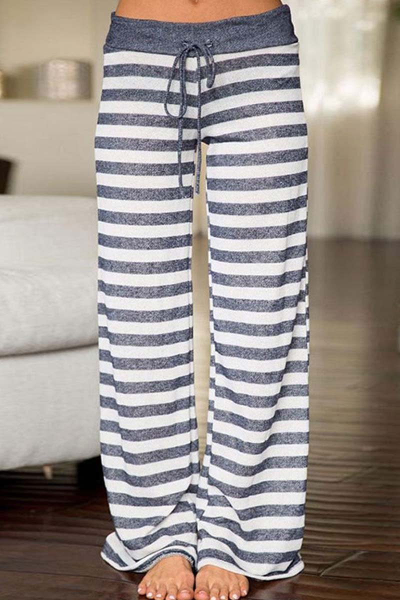 Borical Casual Striped Pants