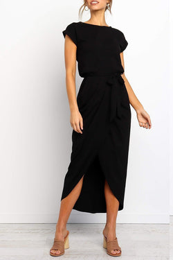 Borical After Midnight Ankle Length Dress(4 Colors )