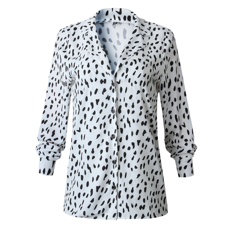 Borical Leopard print Long Sleeve Shirt (2 Colors)