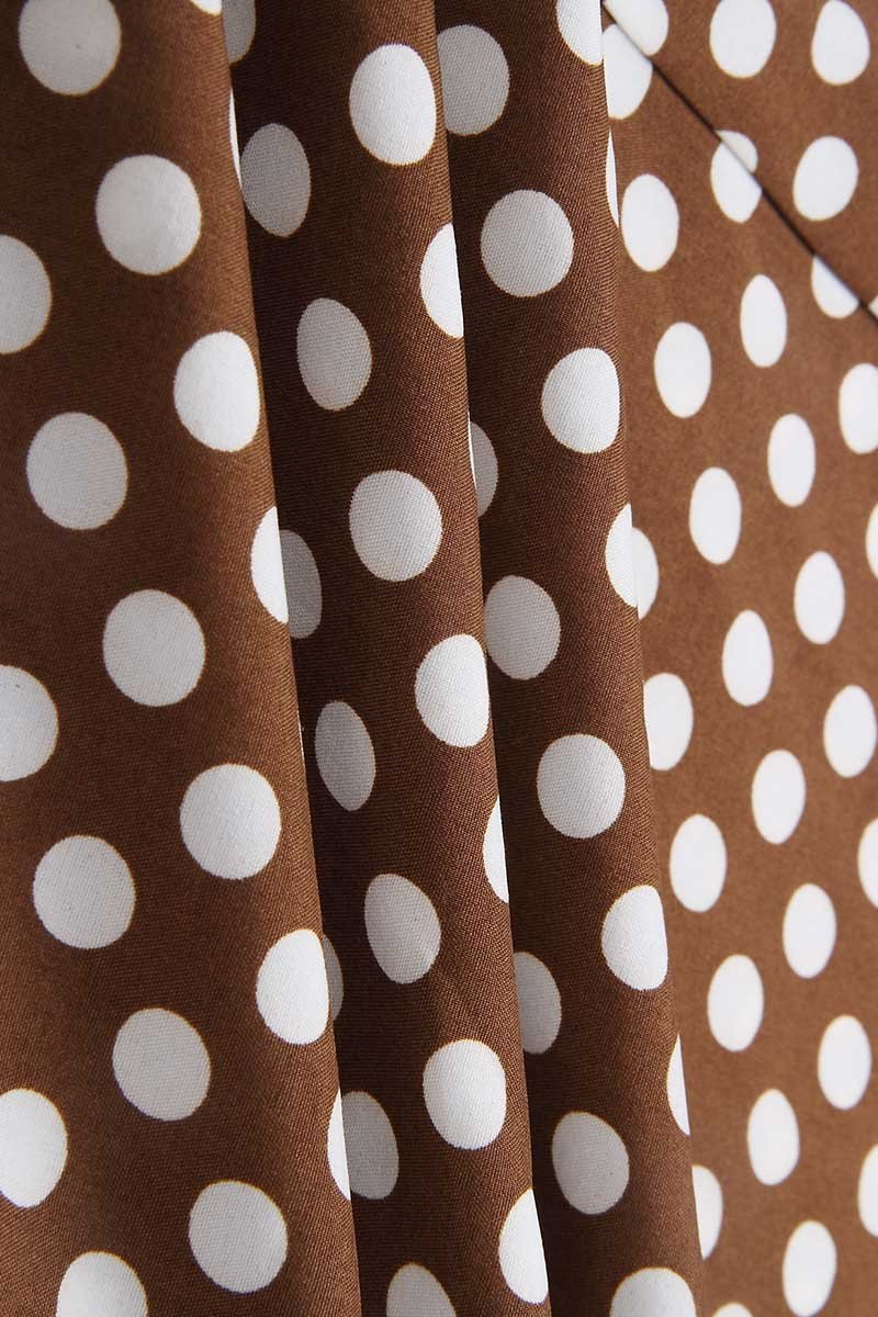 Borical Irregular Polka Dot Dress (3 Colors)