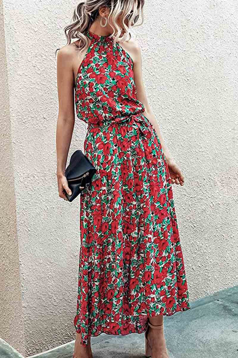 Borical Fashion Floral Dress ( 3 Colors)