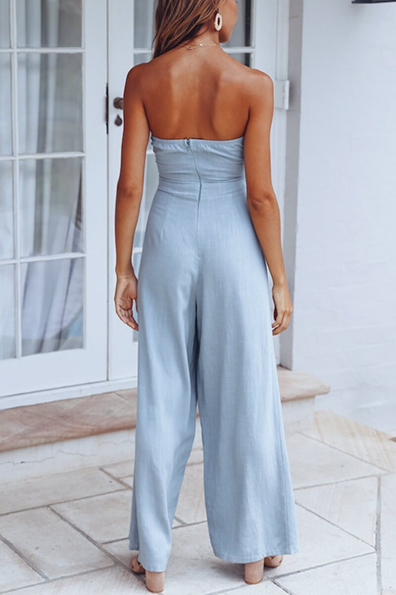 Borical Off The Shoulder Jumpsuit