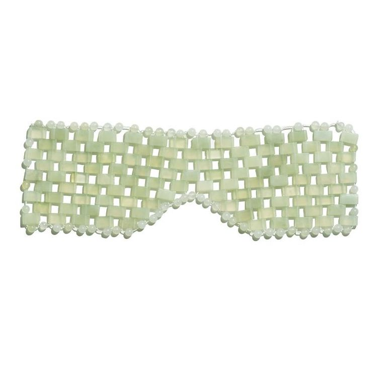 Jade Gemstone Eye Mask