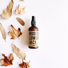 Load image into Gallery viewer, Woody Lumberjack Essential Oil Mist