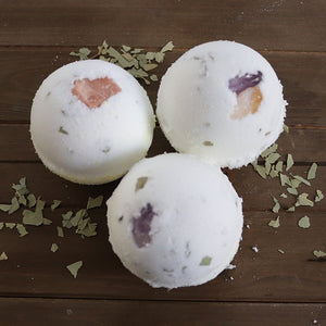 Herbal Crystal Bath Bombs